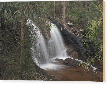 Ironstone Gully Falls 2 Wood Print