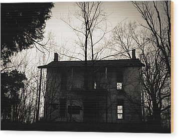 Is Anybody Home Wood Print by Off The Beaten Path Photography - Andrew Alexander