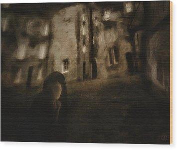 Is This A Dream Wood Print by Gun Legler