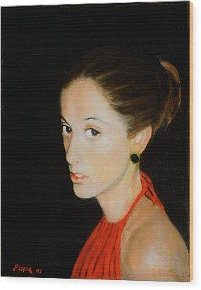 Isabel L. Carlisle Wood Print