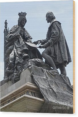 Wood Print featuring the photograph Isabella And Columbus by Phil Banks