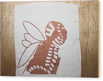 Isaiah - Tile Wood Print by Gloria Ssali