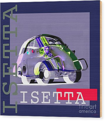 Isetta Wood Print