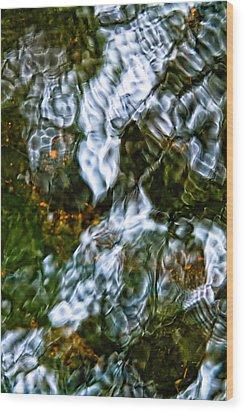 Isinglass Wood Print by Jeff Sinon