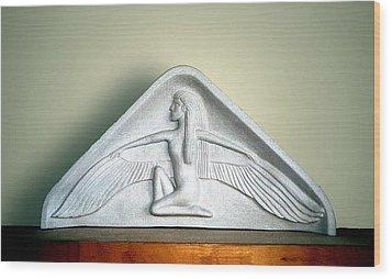 Isis  Wood Print by Charles Lucas