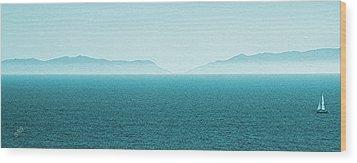Island Wood Print by Ben and Raisa Gertsberg