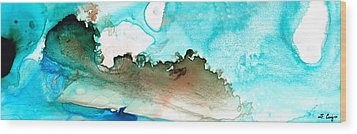 Island Of Hope Wood Print by Sharon Cummings