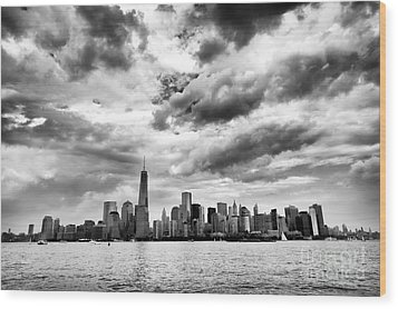 Island Of Manhattan 2013 Wood Print by John Rizzuto