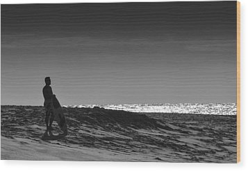 Island Surfer  Wood Print
