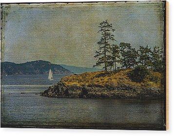 Island Time Wood Print