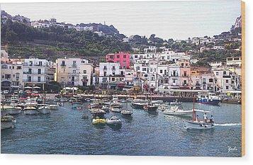Isle Of Capri Wood Print