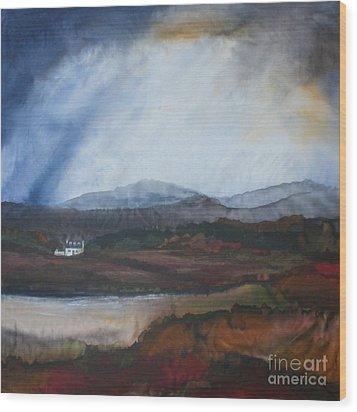 Isle Of Skye Scotland Wood Print