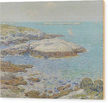Isles Of Shoals Wood Print by Childe Hassam