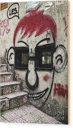 Istanbul Les Wood Print by John Rizzuto