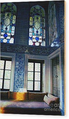 Istanbul - Topkapi Palace Wood Print