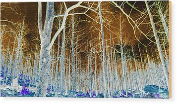 It Is Only A Dream Wood Print