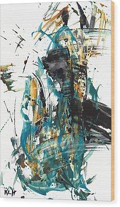 It Went That Way 135.090710 Wood Print