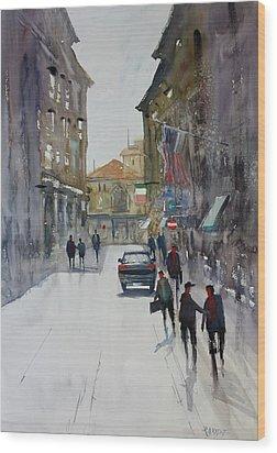 Italian Impressions 1 Wood Print by Ryan Radke