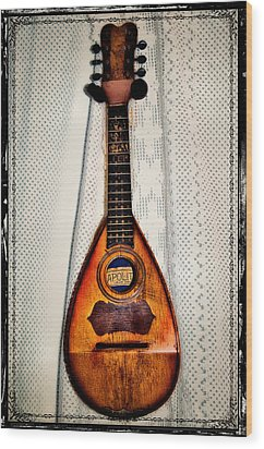 Italian Mandolin Wood Print by Bill Cannon