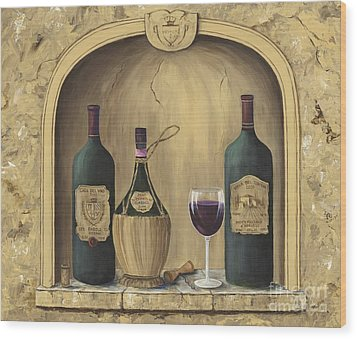 Italian Reds Wood Print by Marilyn Dunlap