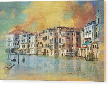Italy 02 Wood Print by Catf
