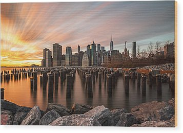 Wood Print featuring the photograph Its A New Year  by Anthony Fields