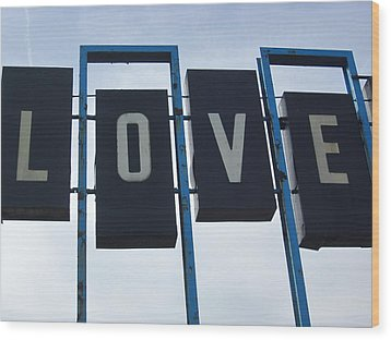 It's All You Need Wood Print by Guy Ricketts