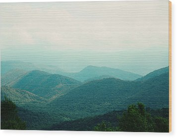 It's Better In The Mountains Wood Print by Kim Fearheiley