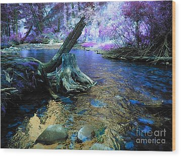 I've Been Dreaming Again Wood Print by Janice Westerberg