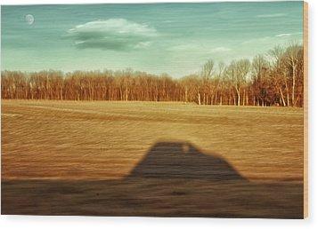 I've Been Everywhere Man Wood Print by Steven Michael