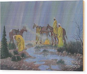 I've Seen Fire-i've Seen Rain Wood Print