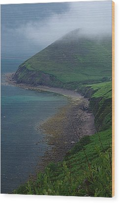 Wood Print featuring the photograph Iveragh Peninsula by Ken Dietz