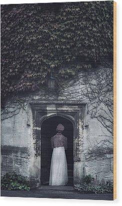 Ivy Tower Wood Print by Joana Kruse
