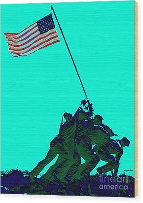 Iwo Jima 20130210m128 Wood Print by Wingsdomain Art and Photography