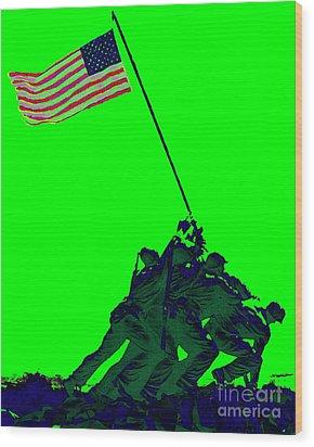 Iwo Jima 20130210p180 Wood Print by Wingsdomain Art and Photography