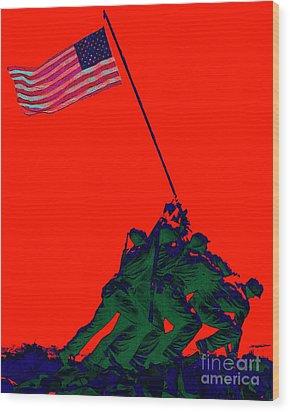 Iwo Jima 20130210p65 Wood Print by Wingsdomain Art and Photography