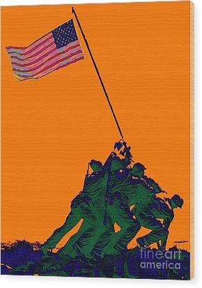 Iwo Jima 20130210p88 Wood Print by Wingsdomain Art and Photography