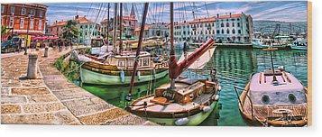 Izola Impressionist Wood Print