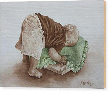 Jack Wood Print by Bobbi Price