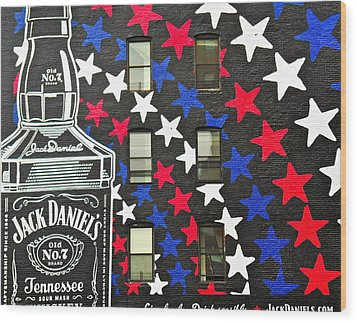 Wood Print featuring the photograph Jack Daniel's Wall Art by Joan Reese