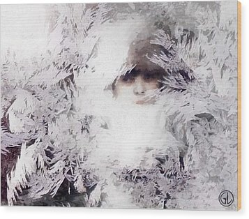 Jack Frost Nipples Your Nose Wood Print by Gun Legler