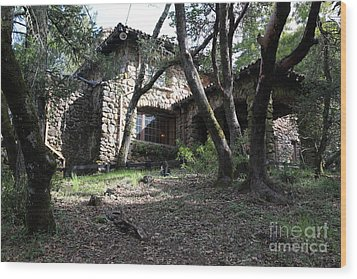 Jack London House Of Happy Walls 5d21962 Wood Print by Wingsdomain Art and Photography