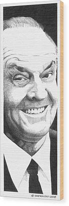 Jack Wood Print by Paul Shafranski