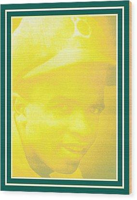 jackie Robinson 2 Wood Print by Tracie Howard