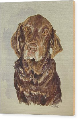Wood Print featuring the painting Jackie's Jack by Gloria Turner