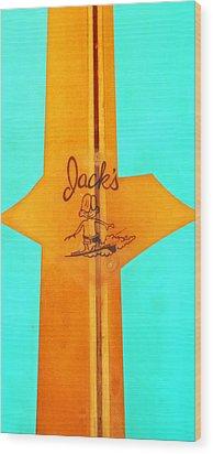 Jacks Wood Print by Ron Regalado