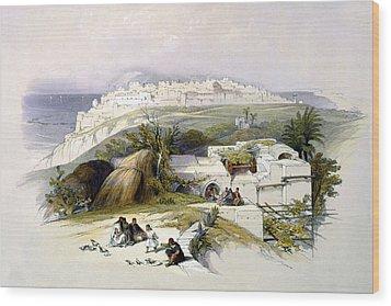 Jaffa 1839 Wood Print by Munir Alawi