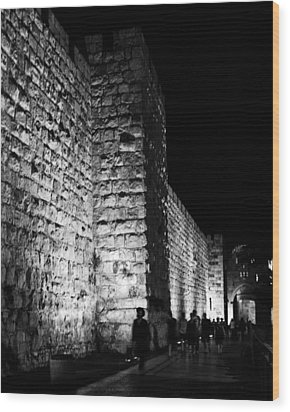 Jaffa Gate Wood Print by Amr Miqdadi