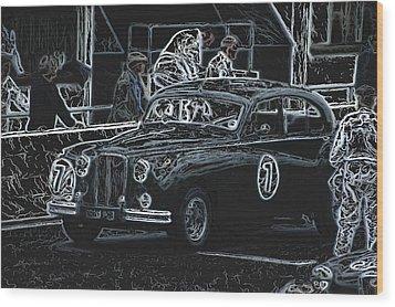 Jaguar Markvii 1952 Wood Print by John Colley