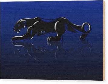 Jaguar Wood Print by Timothy Ramos